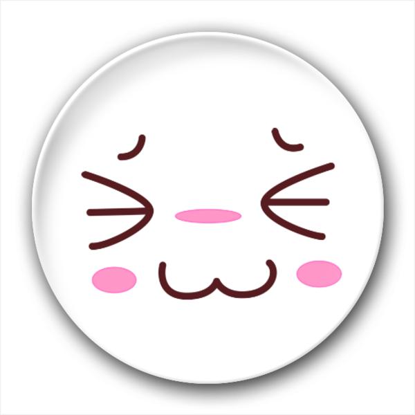 萌表情-4.4个性徽章图片