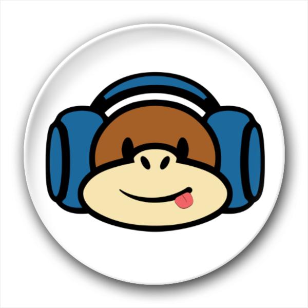听���!�`iyn��+��n���'���_听音乐的小猴子-创意冰箱贴