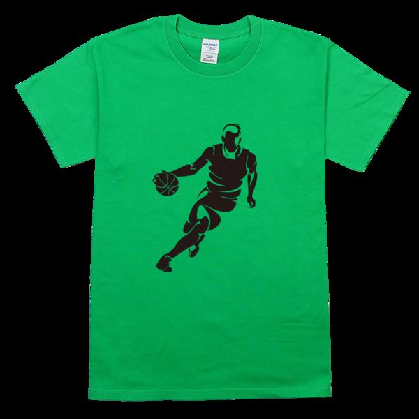 篮球带球运球运动舒适彩色t恤图片