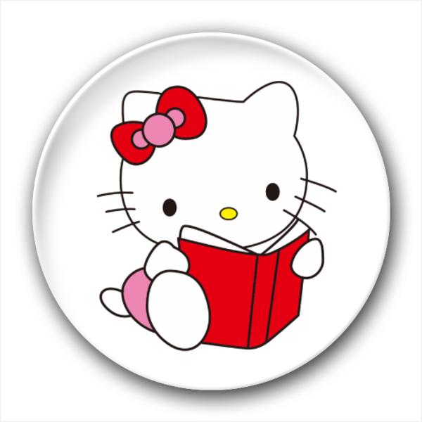 hello kitty(看书)-3.2个性徽章