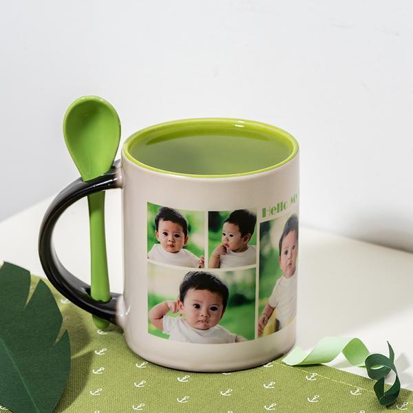 自由DIY-陶瓷马克变色杯