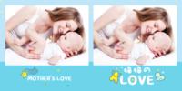 妈妈的love 爱的礼物 亲子宝贝成长纪念(大容量)10817b635-8x8PU照片书PatelStudio