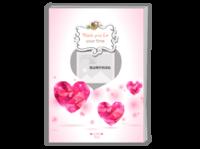 钻石心甜蜜浪漫生日节日礼物-A4杂志册26p(哑膜、胶装)