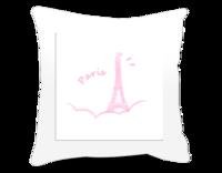 巴黎 Amora-方形个性抱枕