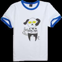 十二生肖忠狗狗霸气版时尚撞色纯棉T恤