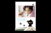 我爱卖萌の罗小黑·萌猫记-8x12印刷单面水晶照片书21p