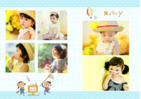 可爱儿童成长纪念册-我们的纪念册22p