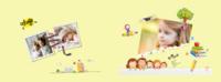 宝贝的快乐成长日记—精品儿童纪念册-8x12横款硬壳对裱照片书32p