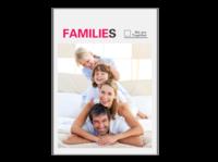 Our Families 我们一家(全家福) 高档原创欧美经典精品自由DIY-A4杂志册(24p)  亮膜