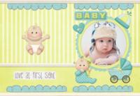 baby宝宝-亲子 甜美 萌-8X12锁线硬壳精装照片书24p