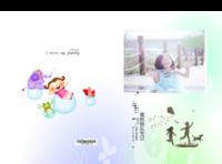 我的快乐宝贝 儿童成长纪念册 周岁生日 幼儿园毕业纪念 图文可替换-硬壳精装照片书22p