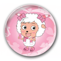 美羊羊徽章-4.4个性徽章