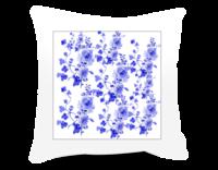 香色蓝-方形个性抱枕