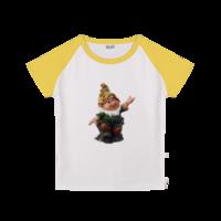 快乐的小矮人-时尚童装插肩T恤