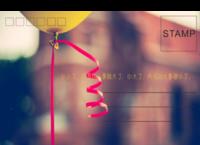 气球-全景明信片(横款)套装