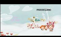 萌娃成长纪念册·爱的记忆-方8寸硬壳对裱杂志册