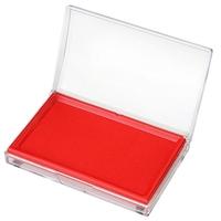 得力9864快干印台(红)(只)