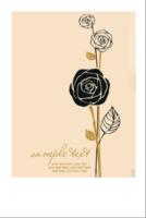 玫瑰-6寸照片拍立得竖款6A