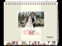 爱情密码(封图可换)-8寸单面印刷台历
