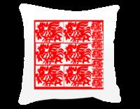 十二生肖(鸡)-方形个性抱枕