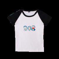 快乐机器猫-时尚童装插肩T恤