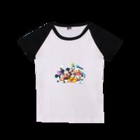 米老鼠-时尚童装插肩T恤