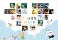 毕业纪念册(幼儿园、小学)-我们的纪念册22p