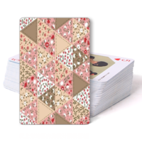 花布森系甜美-双面定制扑克牌