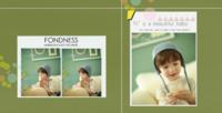 快乐主义(图片可换)母板-福字照片书-方8寸