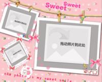 sweet-10寸木版画横款