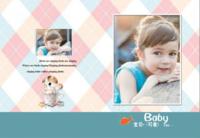 成长的幸福(封面封底图片可替换)-8X12锁线硬壳精装照片书32p