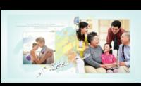 幸福童年-幸福全家福-家和万事兴-Love-方8寸硬壳对裱杂志册