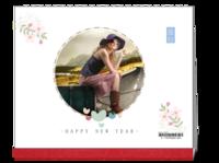 那些年的旅行(封面及内页图片可替换)-10寸双面印刷台历