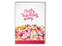 节日里的浪漫 生日快乐-A4杂志册26p(哑膜、胶装)