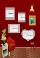 优雅欧式古典浪漫背景墙系列-20寸木版画竖款