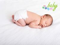 原创 我亲爱的baby 40熟睡中的宝贝928(装饰可移动)-40寸横式木版画
