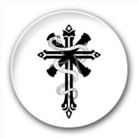 权力与救赎黑色十字架-5.8个性徽章