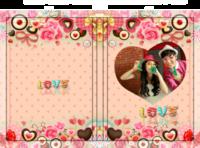 爱像糖果一样甜蜜 浪漫爱情 亲亲宝贝纪念册-硬壳精装照片书22p