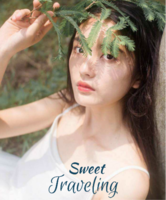 甜蜜旅行(装饰可移动、图片可换)-12X10寸木版画竖款