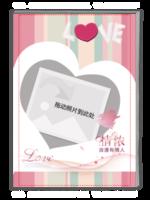 LOVE 爱的浪漫  (结婚 情侣 周年纪念珍藏礼物)-A4杂志册(32P)