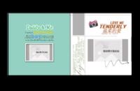 温柔的爱(幸福家庭、甜蜜爱情、聚会旅行)影楼模板极致高端设计页页精彩-贝蒂斯8X8照片书