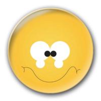 笑脸徽章钥匙扣-4.4个性徽章