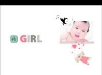 【宝贝】布艺女版·宝贝公主成长记·纯白天晴-硬壳精装照片书30p-硬壳精装照片书32p