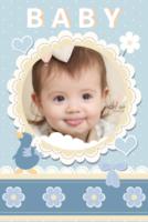 宝贝的梦幻世界-精美内页-可爱卡通亲子纪念-宝宝成长记-妈妈的爱-亲子旅行全家福(首图可换)-8x12双面水晶印刷照片书22p
