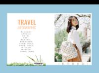 去旅行吧!(记录你旅途中的故事)-硬壳精装照片书30p(亮膜)