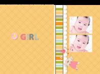 【宝贝】布艺女版·宝贝公主成长记-硬壳精装照片书30p-硬壳精装照片书32p