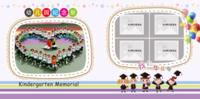 幼儿园毕业纪念册 儿童毕业季 我们毕业了 小学生毕业留念-PU儿童毕业纪念册20p
