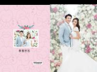 幸福时光-婚纱-结婚-照片可替换-竖12寸硬壳高端对裱照片书24p