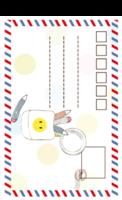 童话风卡通明信片童年1511-822-长方留白明信片(竖款)套装