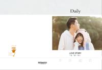 一生一世一双人 love story  爱情日志 ins风-8X12锁线硬壳精装照片书80p